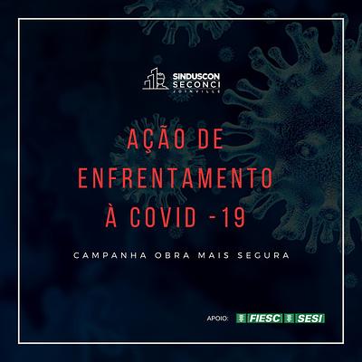 Seconci Joinville volta as obras com a Ação de Enfrentamento à COVID-19