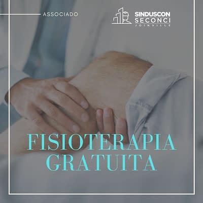 Seconci Joinville segue oferecendo atendimento de Fisioterapia gratuitamente